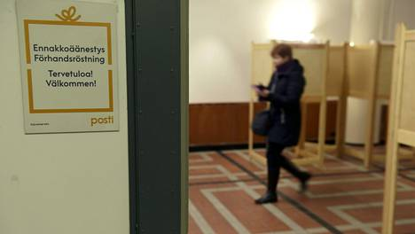 Ennakkoon voi äänestää muun muassa kunnan- ja kaupungintaloissa, kirjastoissa, kauppakeskuksissa sekä posteissa.
