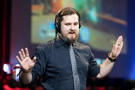 Tomi selostaa Assemblyilla useampaa peliä, mutta pääasiassa hän keskittyy Overwatchiin.
