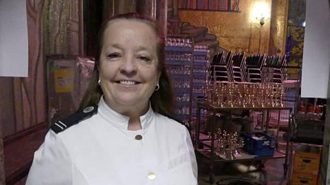 Kaupungintalon hovimestari Anitta Näsänen on talon todellinen veteraani, sillä hän on ollut 26 vuotta samassa työpaikassa.