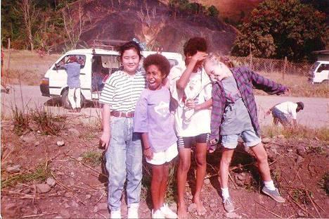 Anna vietti elämänsä jännittävimmät vuodet Papualla.