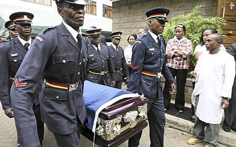 Maratonjuoksun hallitsevan olympiavoittajan Sammy Wanjirun hautajaiset voidaan pitää.