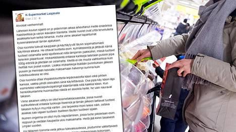 Kauppiasta ärsyttää muun muassa nuorten toiminta irtokarkkien suhteen kaupassa. Kuvituskuva.