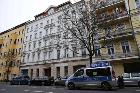 Fussilet 33 - järjestön ylläpitämä moskeija toimi tässä rakennuksessa Berliinin Moabitissa.
