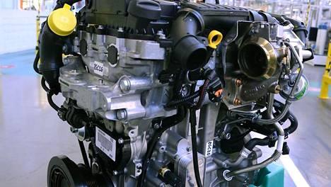 Palkittu Pure Tech 130 -moottori.