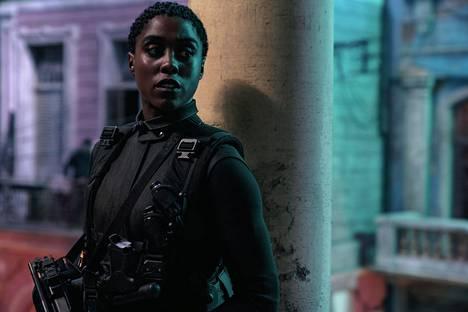 Lashana Lynchin näyttelemä Nomi haastaa James Bondin auktoriteetin.