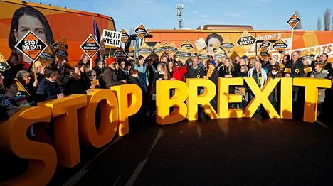 Liberaalidemokraatit ovat keskittyneet vaalikampanjassaan brexitin pysäyttämiseen.