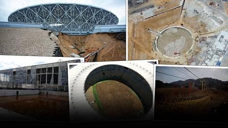 Volgogradin MM-stadionin karu kohtalo ei ole vielä mitään – hyytävät kuvat hylätyistä urheilupuitteista kertovat kaiken