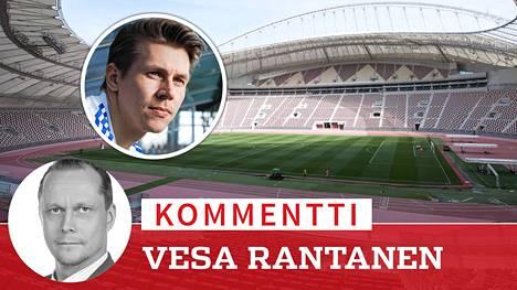Jalkapalloilija Riku Riski sai runsaasti huomiota boikotoituaan Palloliiton matkaa Qatariin. Ennen yleisurheilun MM-kisoja kriittinen keskustelu ihmisoikeuksista on jäänyt kuitenkin vähiin.