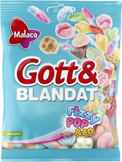 Ruotsissa suositut Gott & Blandat -sekoitepussit saapuvat syksyllä Suomeen.