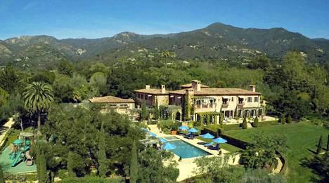 Harry ja Meghan asettuivat poikansa kanssa aloilleen yli 12 miljoonan euron kartanoon supertähtien suosimalle alueelle Santa Barbaraan. Kartanossa on 1300 neliötä.