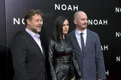 Elokuvan päätähdet Russell Crowe ja Jennifer Connelly, sekä ohjaaja Darren Aronofsky osallistuivat elokuvan ensi-iltaan New Yorkissa 26.3.