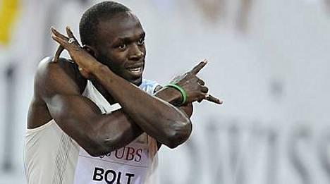 Usain Bolt saa perjantaina vastaansa vauhtinsa taas löytäneen Asafa Powellin.