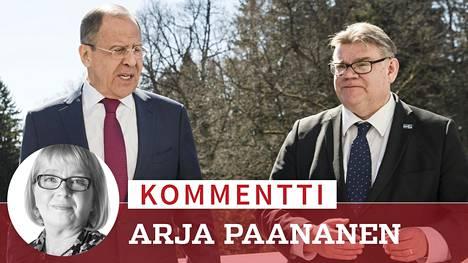 Toukokuussa 2017 Venäjän ulkoministeri Sergei Lavrov oli Timo Soinin vieraana Haikon kartanossa. Tänään tiistaina he tapaavat Moskovassa.
