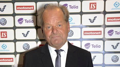 Antti Muurinen kuvattuna Captain's Ballissa.