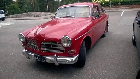 Volvo Amazon oli aikoinaan yleinen näky Suomen teillä, mutta nykyään auto on paljon harvinaisempi.