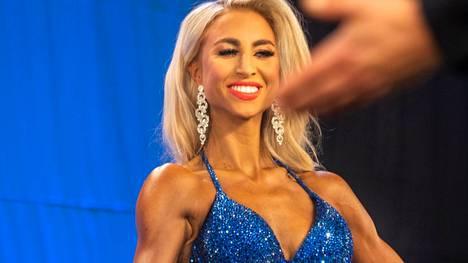 Rosa Paloperälle, 24, kilpailukausi on jo kolmas peräkkäinen.