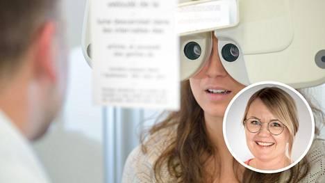 Silmälaseja tarvitsevien määrä on jatkuvassa kasvussa, kertoo optometristi Mira Järvinen.