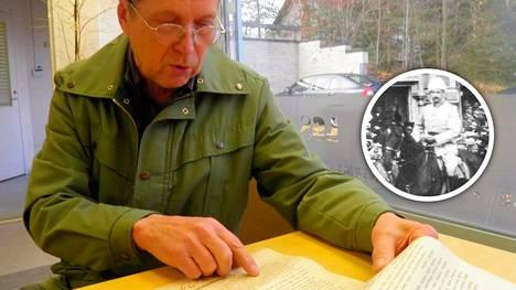 Savitaipalelainen tietokirjailija Pentti Pylkkö pitää Mannerheimin julistusta arvokkaana löytönä.