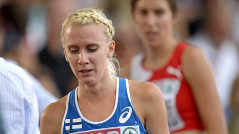 Sandra Eriksson pettyi Zürichin EM-kilpailuissa.