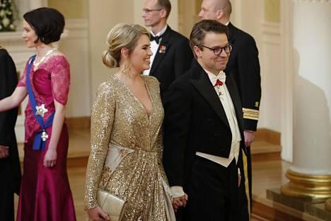 Ville Niinistö ja Hennariikka Andersson.