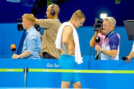 """Matti Mattsson pettyi pahasti Riossa 2016. Entisen valmentajansa mukaan Mattsson oli """"hirttäytynyt lupaukseen"""" olympiakullasta."""