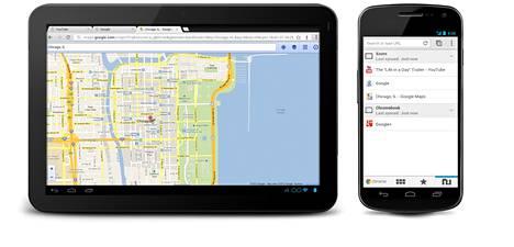 Chrome-selaimen liitännäiset on kohta ladattava myös Windows-laitteille Chrome Web Storesta, josta kuvan Android-laitteetkin saavat ne.
