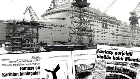 Vuonna 1990 Helsingissä valmistuneen Karibian-risteilijä Carnival Fantasyn tie on tulossa päätökseensä.