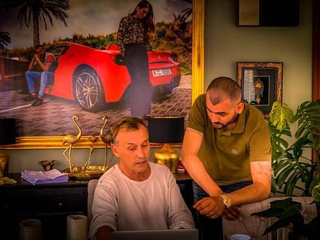 Robert Knepper ja Rami Al Husseini ovat olleet ystäviä jo muutaman vuoden.