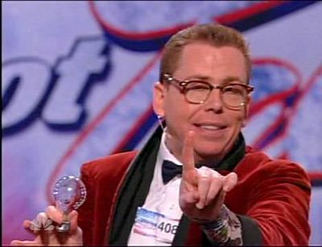 Chris Allisonin lampputemppu hämmensi yleisön.