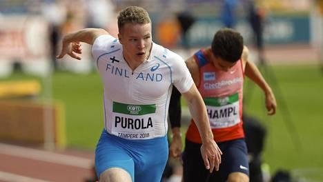 Nyt tuli vahvistus – pikajuoksija Samuel Purola joutuu vetäytymään MM-välierästä