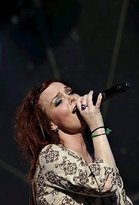 Nightwish lämmitteli tänään alkavaa Tuska-festivaalia.