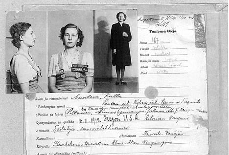 Kerttu Nuortevasta tuli jatkosodan kuuluisin vakooja.