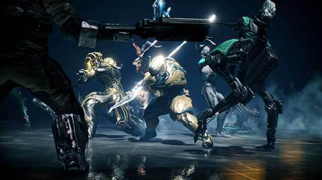 Warframessa scifi-ninjat mäiskivät ja räiskivät suurilla planeetoilla.