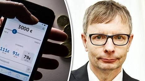 Heikki Hiilamo sanoo, että saalistajaluotottajien armoille joutuvat helpoimmin ne, joilla on heikko talouden lukutaito.