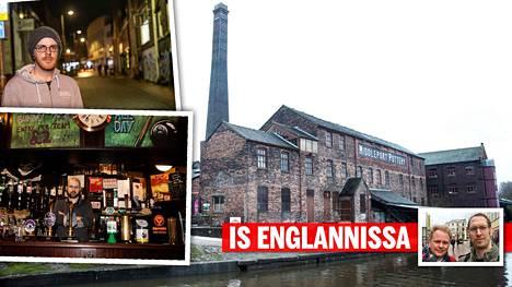 Konservatiivit juhlivat Stoke-on-Trentissä.