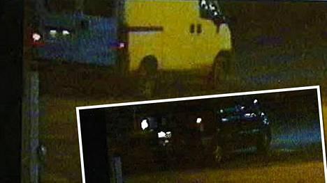 Oletko nähnyt kuvan ajoneuvoja, joilla epäillään olevan osuutta Vantaalla tapahtuneeseen työkaluvarkauteen? Poliisi pyytää havaintoja kyseisisten ajoneuvojen liikkeistä.