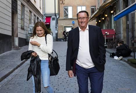 Curt Lindström sanoo, että hänellä ja hänen puolisollaan on erittäin hauskaa yhdessä.