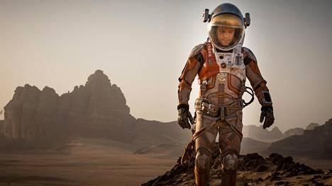 Elokuva Yksin Marsissa perustuu Andy Weirin tieteisromaaniin.
