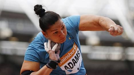 Valerie Adams tavoittelee kuntoutumista ensi kesän olympialaisiin mennessä.