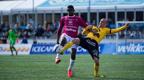 Ariel Ngueukam on viimeistellyt Lahdelle neljä maalia.