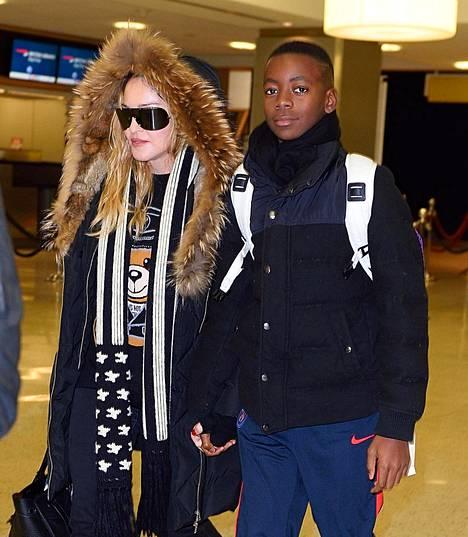 Madonna ja Davin New Yorkissa viime vuonna.