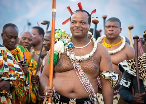 Kuningas vaihtoi viime vuonna 50-vuotissyntymäpäivänsä kunniaksi Swazimaan nimen Eswatiniksi.