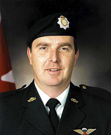 Eversti Geoff Parker oli korkea-arvoisin Afganistanin sodassa kaatunut kanadalainen sotilas.