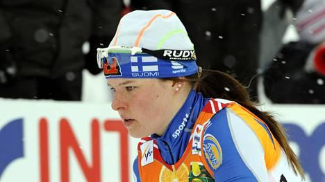Krista Lähteenmäki sijoittui arvokisadebyytissään Liberecin MM-kisoissa 10 kilometrin kilpailussa 37:nneksi.
