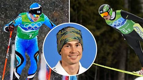 Jaakko Tallus jätti kilpamäet ja -ladut vuonna 2010.