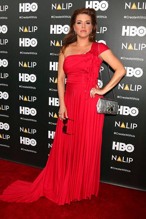 Alicia Machado poseerasi Los Angelesissa kesäkuussa 2016.