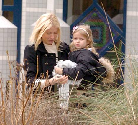 Gwyneth Paltrown 5-vuotias tytär Apple haluaa näyttelijäksi äitinsä tavoin.