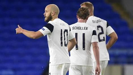 Suomi nousi Uefan kolmoskoriin keskiviikon tappiosta huolimatta.