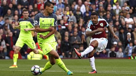 Andre Gray osui Liverpoolin verkkoon viime viikonloppuna.