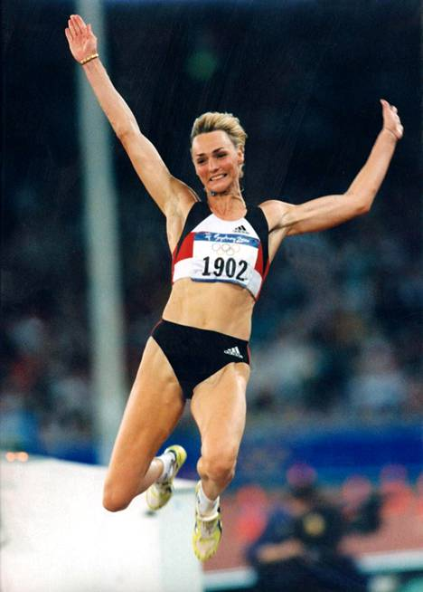 Drechsler Sydneyn olympialaisissa.